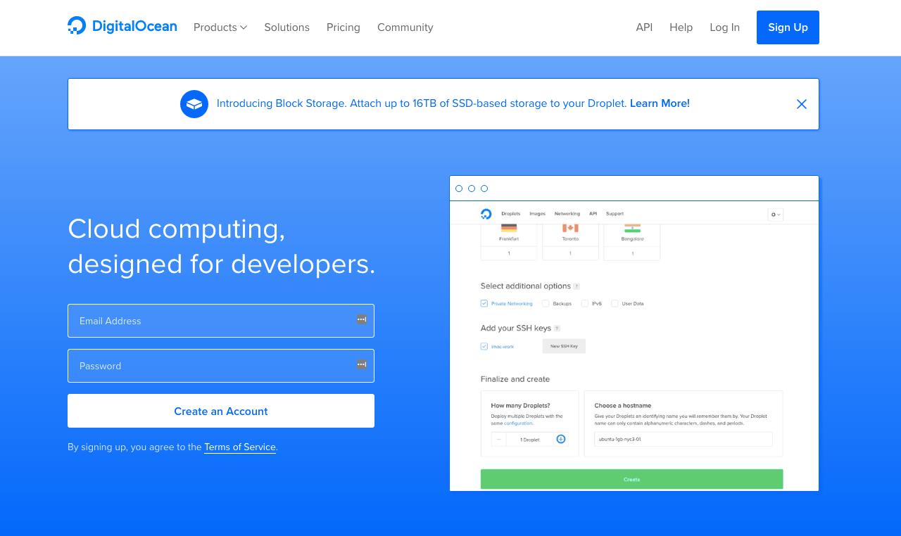 DigitalOcean - Startup Collections