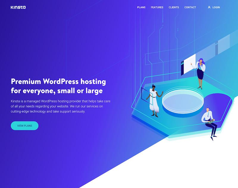 Premium WordPress hosting