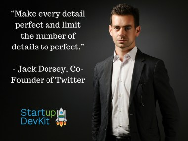 Jack Dorsey of Twitter quote on product development