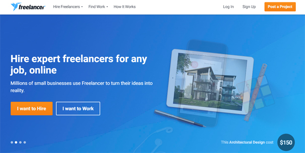 freelancer freelance website marketplace