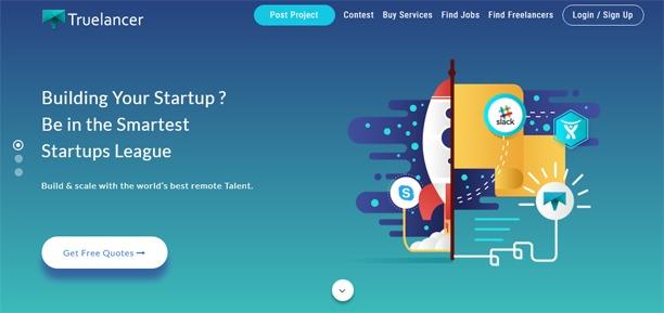 truelancer freelance website marketplace