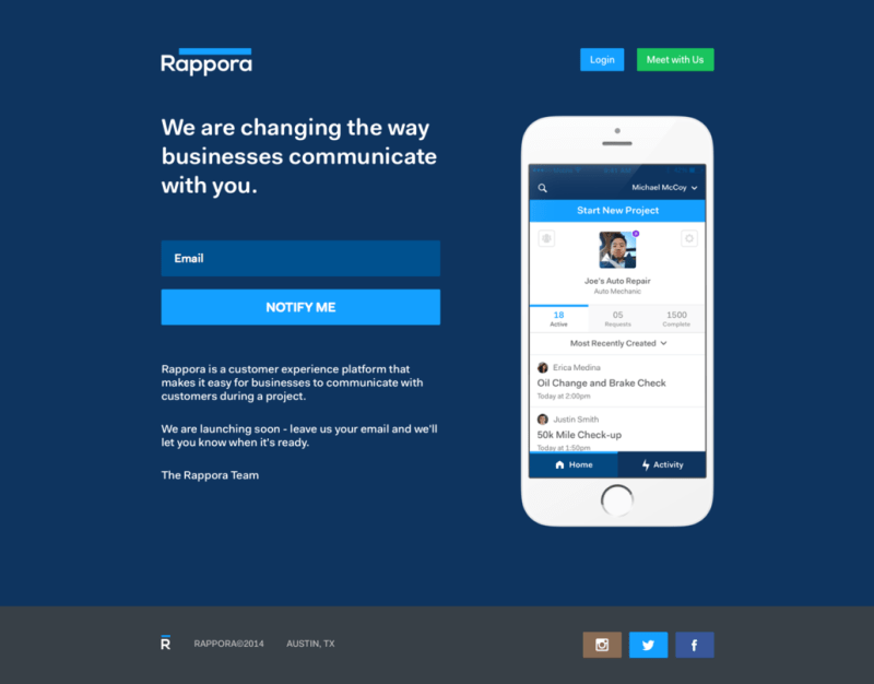 Rappora: The New Age Customer Communication Platform