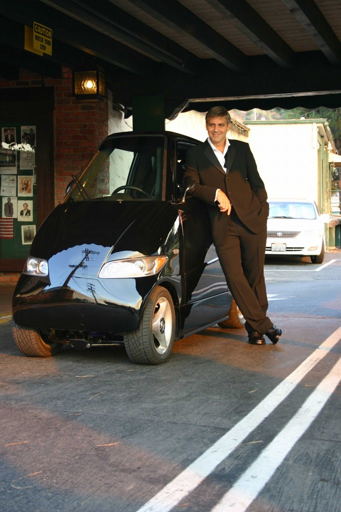George Clooney was the first customer for the Tango.