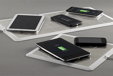 Energysquare- A sticker-based wireless charging system that powers multiple devices simultaneously
