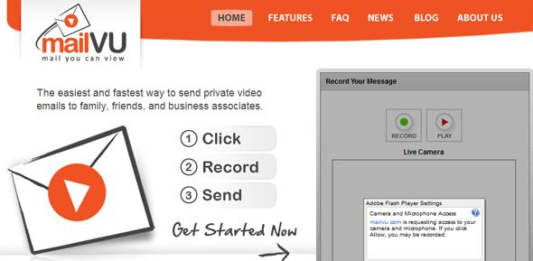 MailVU.com- Featured on StartUpLift