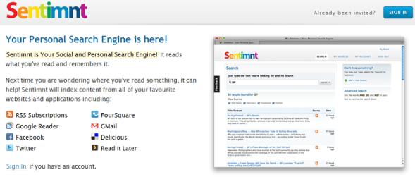 Sentimnt - Featured on StartUpLift