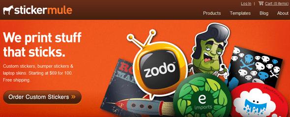 StickerMule-Featured on StartUpLift
