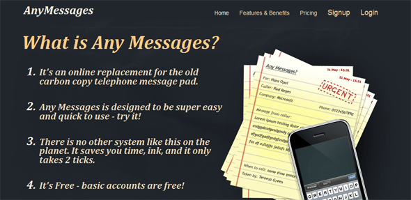 Any Messages - Startup Featured on StartUpLift