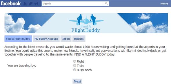 Find A Flight Buddy  - Featured on StartUpLift