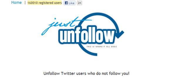JustUnfollow - Featured on StartUpLift