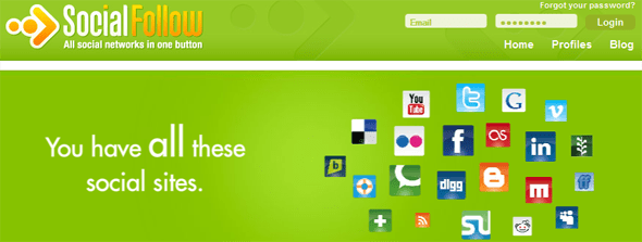 Social Follow - Startup Featured on StartUpLift