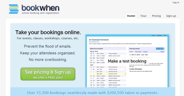 bookwhen - Startup  Featured on StartUpLift