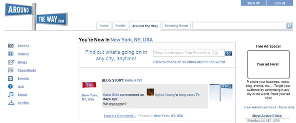 AroundTheWay.com - Startup Featured on StartUpLift