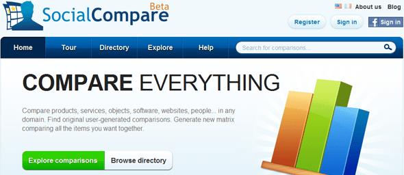 SocialCompare - Startup Featured on StartUpLift