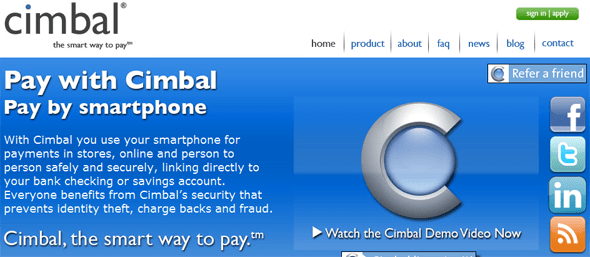 cimbal  - startup featured on StartUpLift