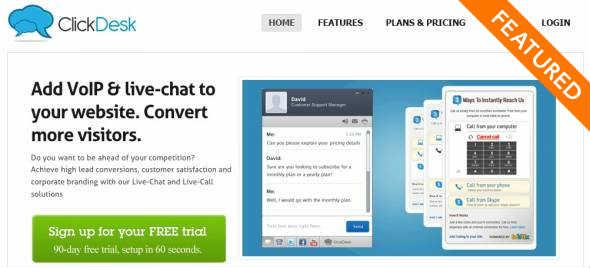 ClickDesk Startup Featured on StartUpLift
