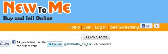 NewToMe StartUp Featured on StartUpLift
