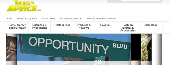 TommysAdvice - startup featured on StartUpLift
