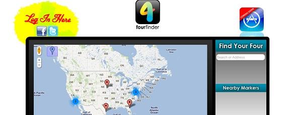 FourFinder - startup Featured on StartUpLift