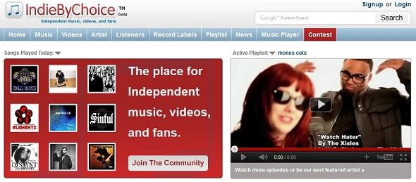 IndieByChoice - Startup Featured on StartUpLift