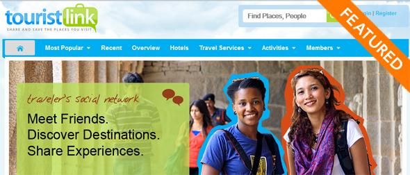 touristLink - startup Featured on StartUpLift