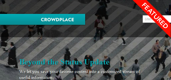 CrowdPlace- StartUp featured on StartUpLift for website feedback