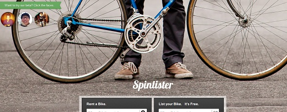 Spinister - StartUp featured on StartUpLift for website feedback and Startup Feedback