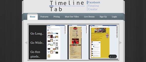 Timeline Tab -startup featured on startuplift for startup feedback and website feedback