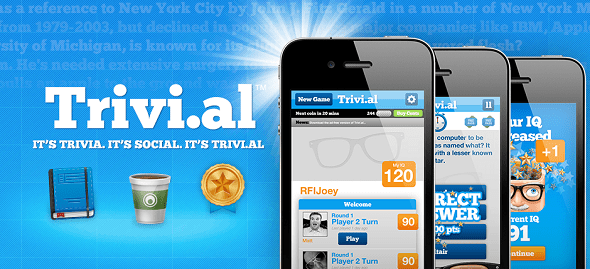 trivi.al  startup featured on startuplift for startup feedback and website feedback