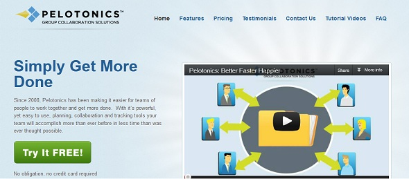 Pelotonics - startup featured on StartUpLift for startup feedback and website feedback