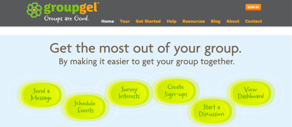 groupgel -startup-featured-on-StartUpLift-for-Startup-Feedback-and-Website-Feedback
