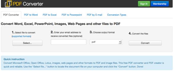 FreePDFConvert – Convert to PDF Online Free   StartUpLift