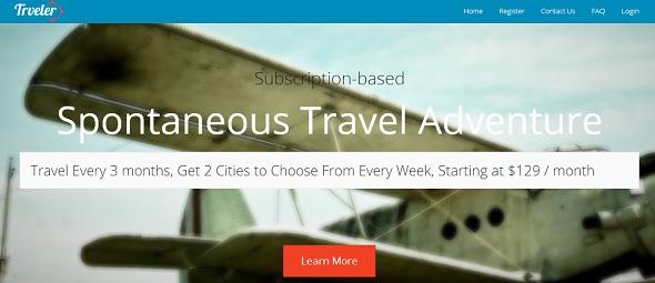 trveler - startup featured on StartUpLift for startup feedback and website feedback