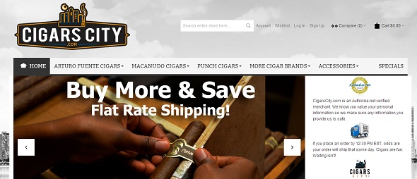 CigarsCity - startup featured on StartUpLift for startup feedback and website feedback