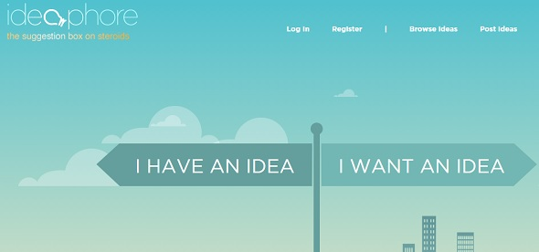 ideaphore - startup featured on StartUpLift for startup feedback and website feedback