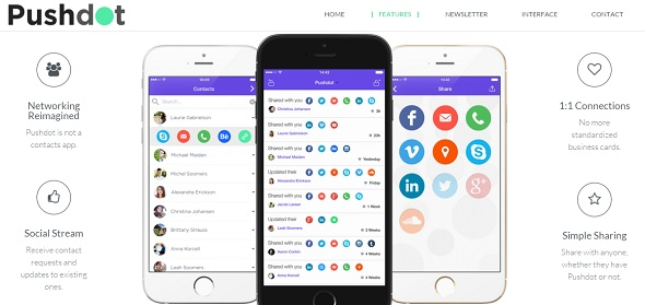 PushDot - startup featured on StartUpLift for startup feedback and website feedback