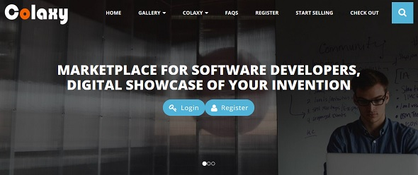 Colaxy - startup featured on StartUpLift