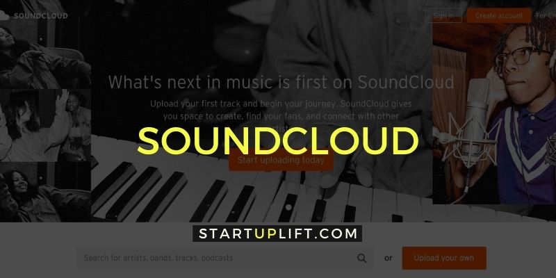 SoundCloud - Best Podcast Hosting Site