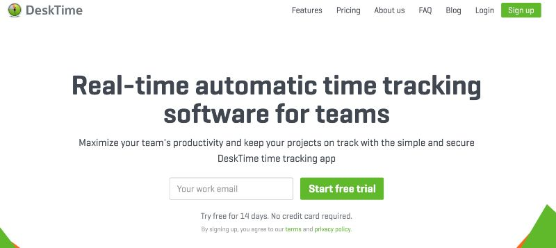 DeskTime - One Of The Best Remote Employee Monitoring Software