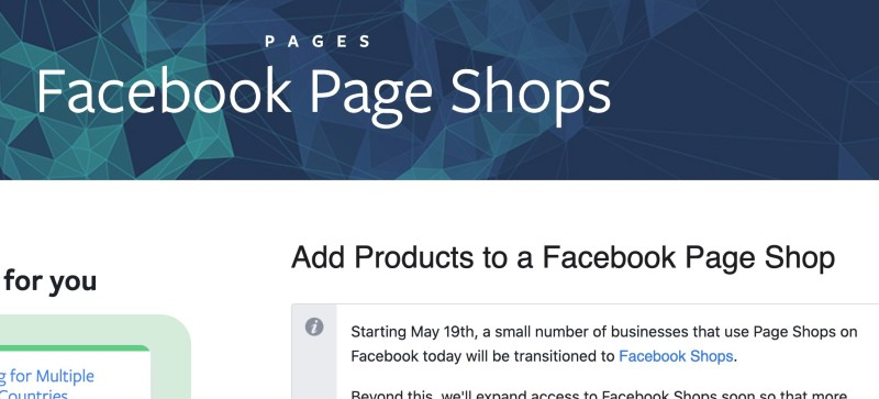 How to Add products to facebook page shop