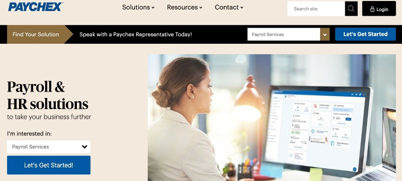 PayChex - Best Online Payroll Provider for Small Business