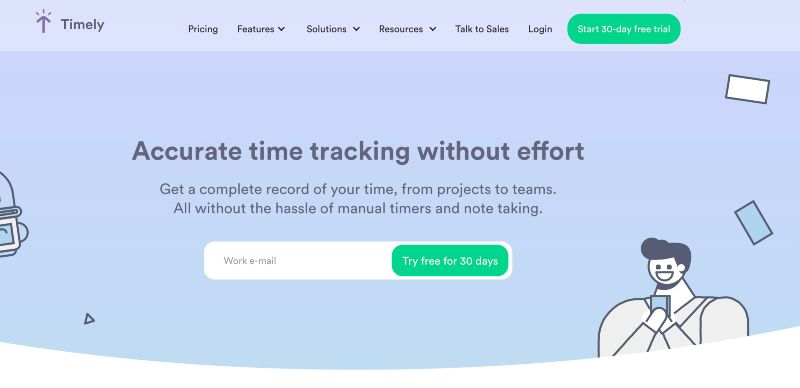 Timely  - Best Remote Employee Monitoring Software