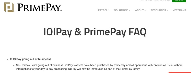 IOIPay - IOI was purchased by PrimePay and is now part of the PrimePay family.