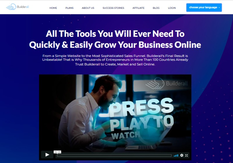BuilderAll - Best Sales Funnel Software