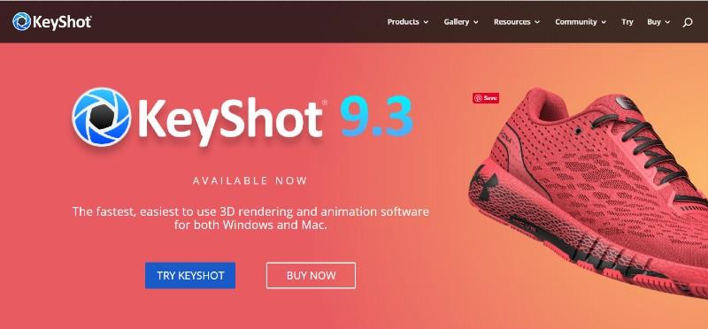 KeyShot - Best Animation Software for Beginners