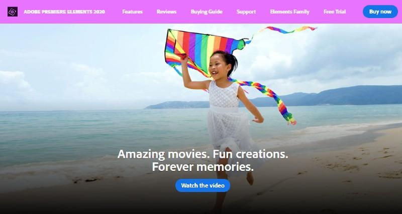 Adobe Premiere Elements - Best Video Editing Software