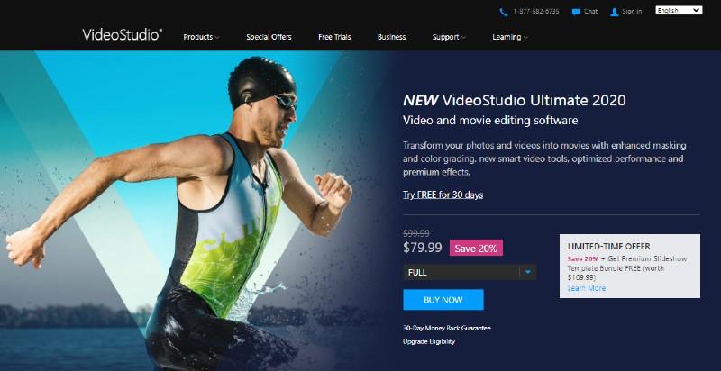 Corel VideoStudio Ultimate - Best Video Editing Software