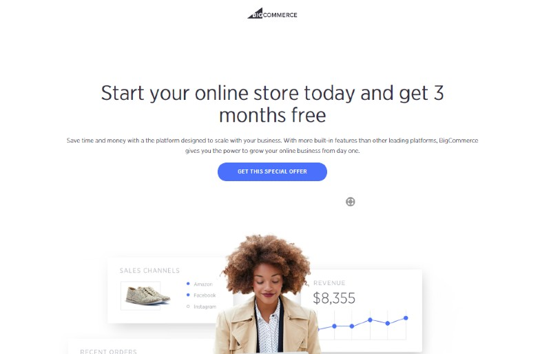 Bigcommerce - Best E-Commerce Website Builders