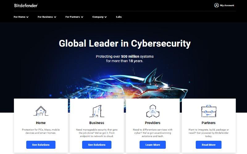 Bitdefender - Best Antivirus Software