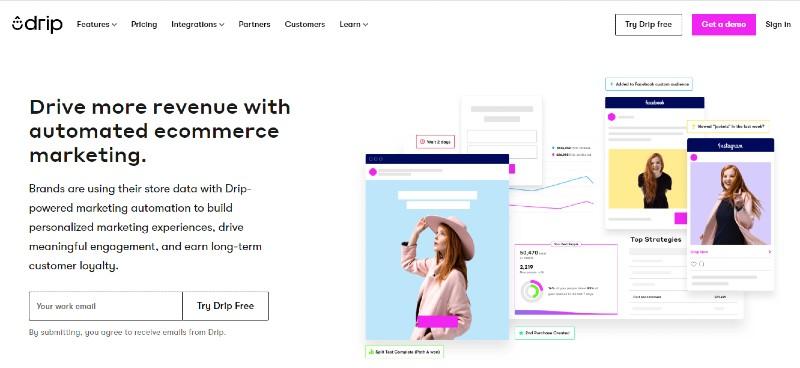 Drip - Best Email Marketing Services